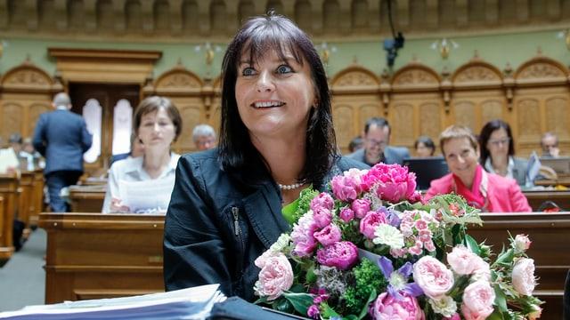 Christine Häsler im Porträt