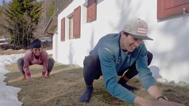 Video ««Achtung, fertig, fit!» mit Skirennfahrer Ramon Zenhäusern» abspielen