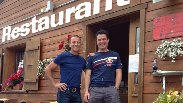 Video «Buffet Bar Bergstation Belalp Wallis - Tag 4» abspielen
