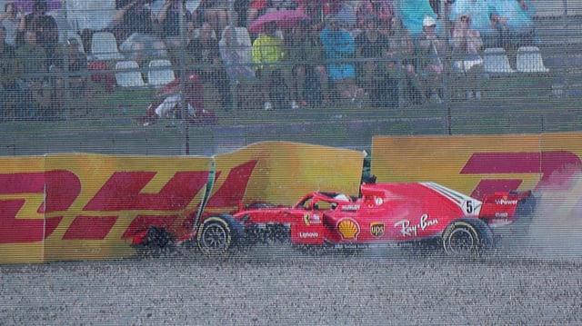 Auto da F1 dasper pista.