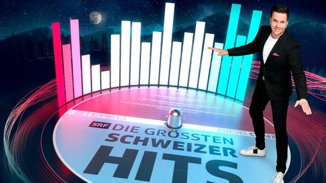 Sven Epiney präsentiert «Die grössten Schweizer Hits – 10 Jahre danach».