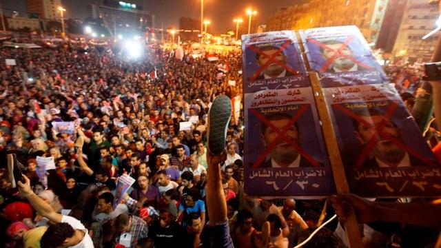 Proteste gegen Mursi in Ägypten