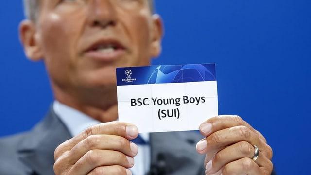 Il scrit cun si BSC Young boys tar il trair la sort.