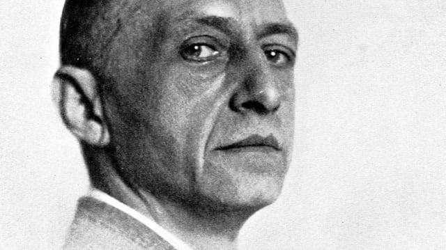 Der russische Schriftsteller Iwan Bunin.