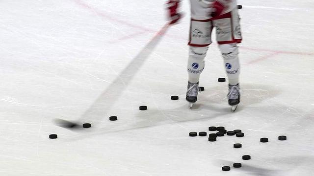 Saison in Eishockey-Amateurligen wird unterbrochen