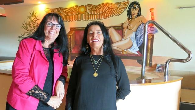Marianne Streiff und Gabriela Burri.