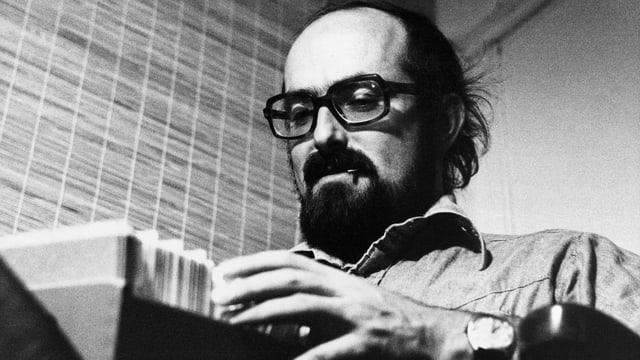 Jürg Frischknecht, Journalist und Buchautor, auf einer undatierten Aufnahme aus den 1970-er-Jahren.