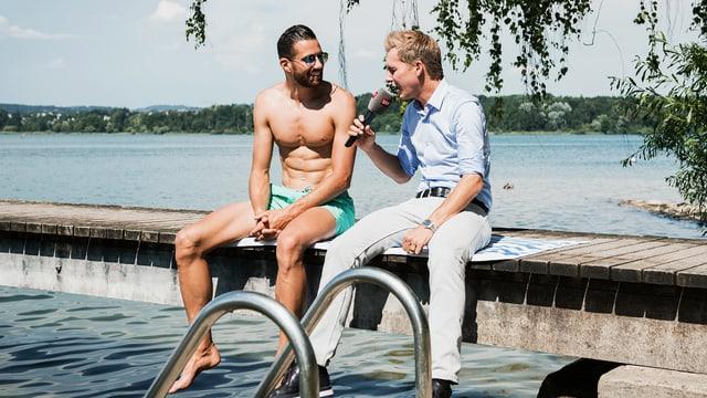 Video ««Donnschtig-Jass» live aus Bürglen TG mit Kariem Hussein» abspielen