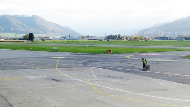 Flughafenpiste