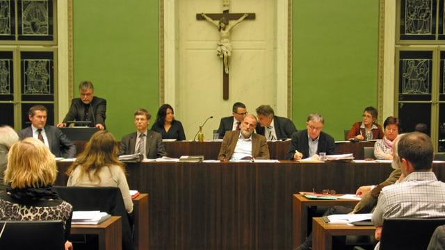 Das Zuger Stadtparlament