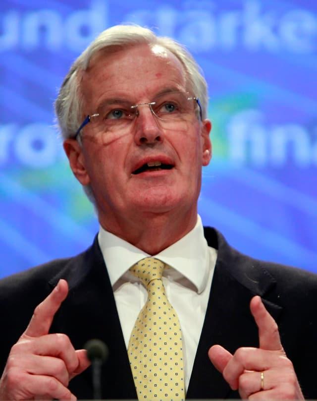 Portrait von Michel Barnier