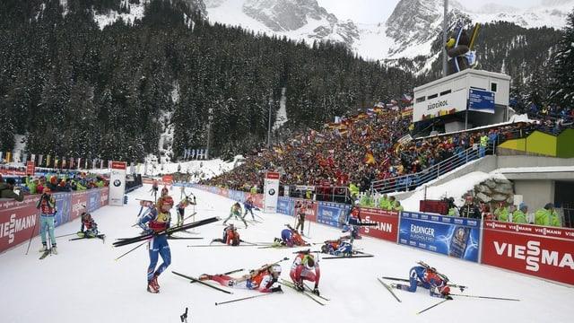 biatlon ad Antholz