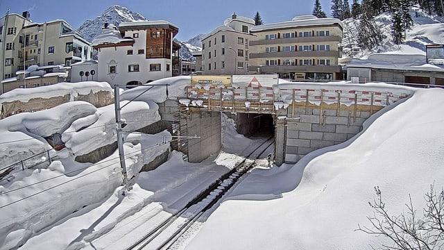Tunnel d'Arosa.