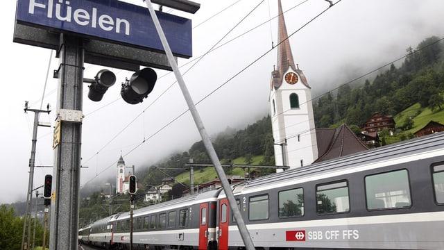 Bahnhof Flüelen