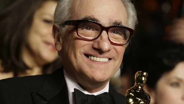 Martin Scorsese im Jahr 2007 nach seinem bislang einzigen Oscargewinn.