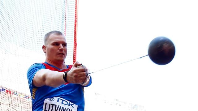 Hammerwerfer Sergej Litwinow