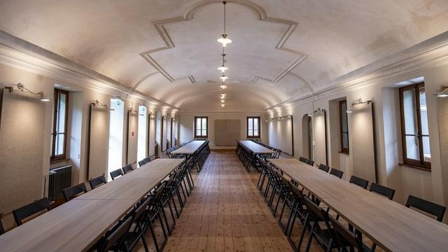 Die frühere Bibliothek des Klosters Stans soll für Seminare genutzt werden.