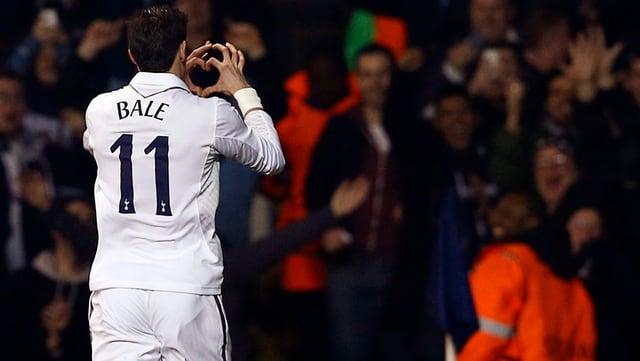 Gareth Bale ist der Superstar schlechthin bei den «Spurs».