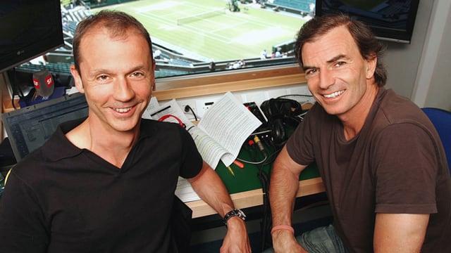 Stefan Bürer (links) und Heinz Günthardt.