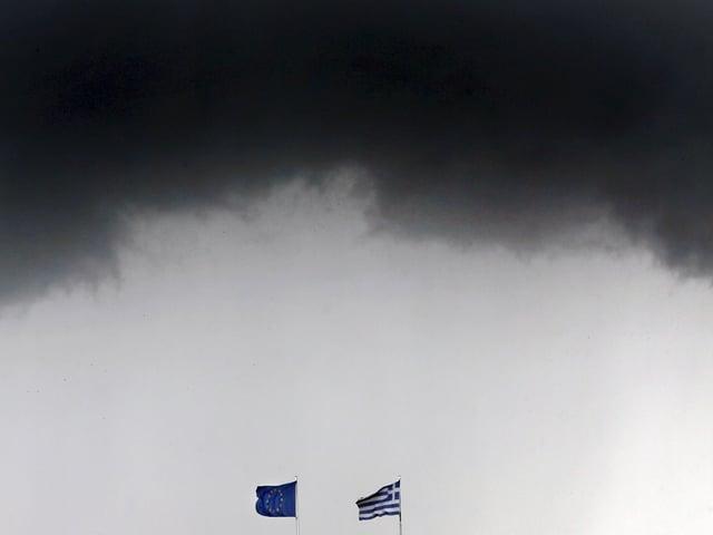 EU/GRE-Flaggen