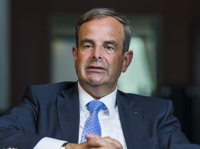 Mitte-Präsident Gerhard Pfister.