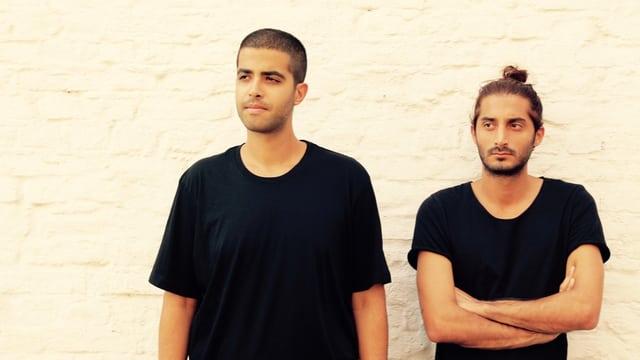 Arash (R) und sein DJ-Kollege Anoosh: Nach der Street Parade 2014 in Zürich packten sie die Freiheit.