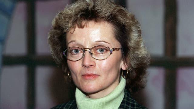 Portrait der Bündner Regierungsrätin Eveline Widmer-Schlumpf (SVP), aufgenommen in Chur 1998.