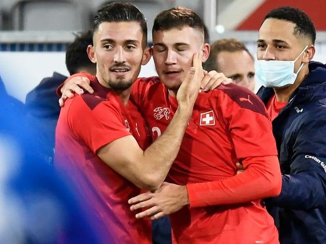 Die Schweiz möchte auch gegen Frankreich punkten.