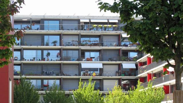 Genossenschaftswohnungen in der Luzerner Tribschenstadt.