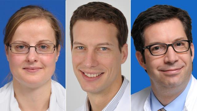 Dr. Iris Bachmann Holzinger, Dr. Eva Berger, Dr. Alison Somerville
