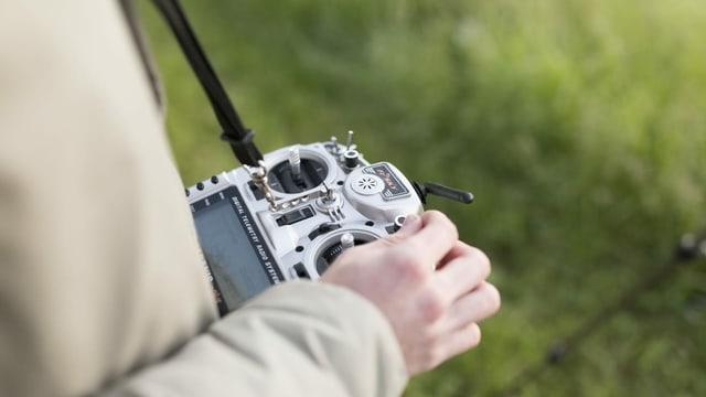 Fernbedienung einer Drohne