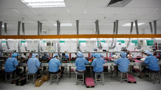 Massenproduktion in China: