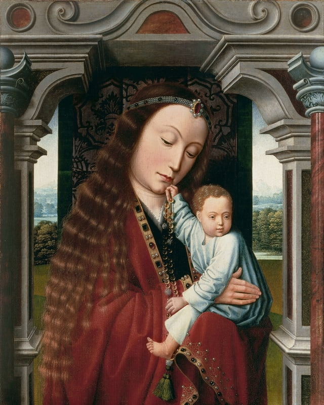 Bild einer Frau mit Kind