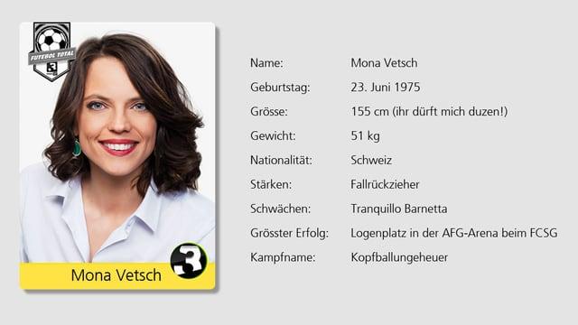 Auch sie ist am Start: SRF 3 Moderatorin Mona Vetsch.