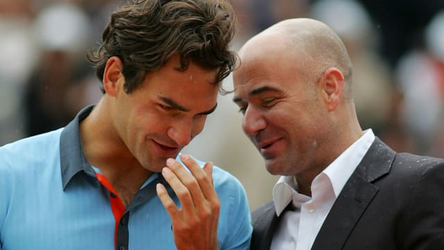 Andre Agassi.