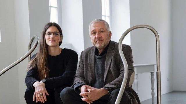 Sarah Fehr e Christof Rösch