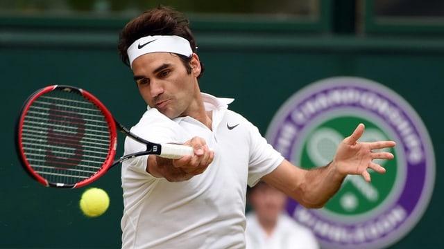 Roger Federer a Wimbledon