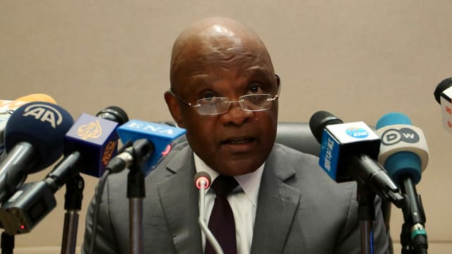 John Nkengasong: Aufruf zu globaler Solidarität in der globalen Krise.