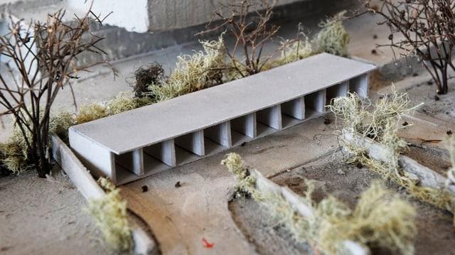 Modell des Strichplatzes