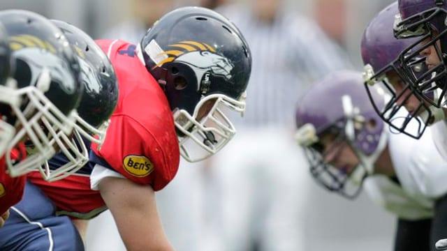 Ils Calanda Broncos, l'equipa grischuna d'american football maina la tabella.