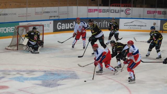 Eishockey-Match