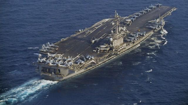 Die «USS Carl Vinston»