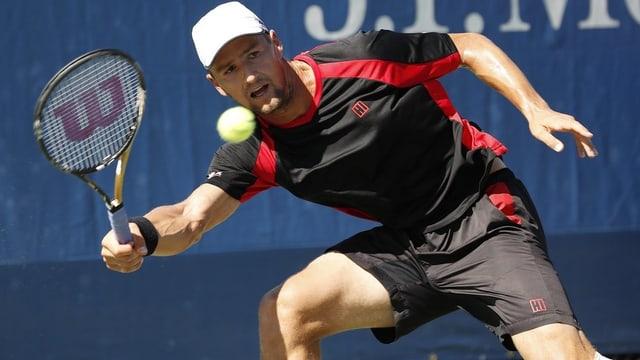 Marco Chiudinelli ha dumagnà il sigl en la segunda runda dals US Open.