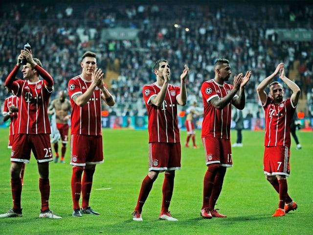 Der FC Bayern.