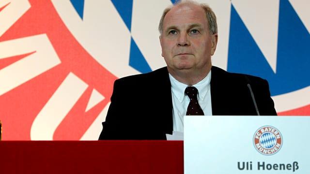 FC Bayern-Präsident Uli Hoeness.