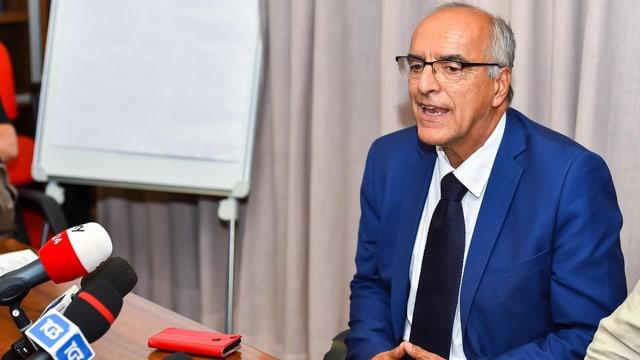 Der leitende Staatsanwalt Francesco Cozzi