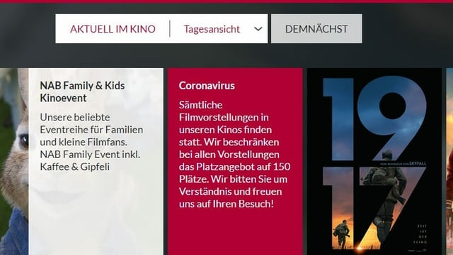 Ausschnitt der Website der Firma Sterk AG.