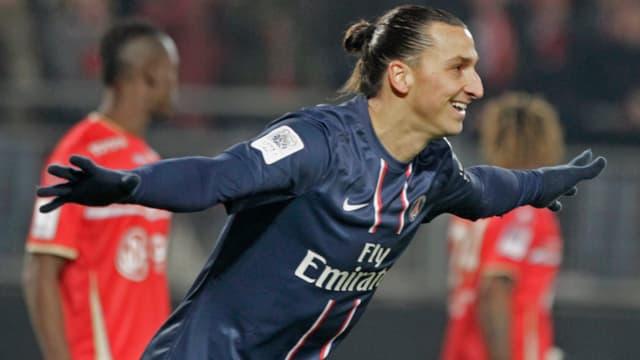 Durfte seinen 1. Dreierpack in der Ligue 1 bejubeln: Zlatan Ibrahimovic.