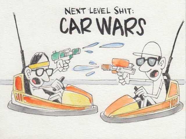 Wer genau geht am Open Air auf einen Auto-Scooter?