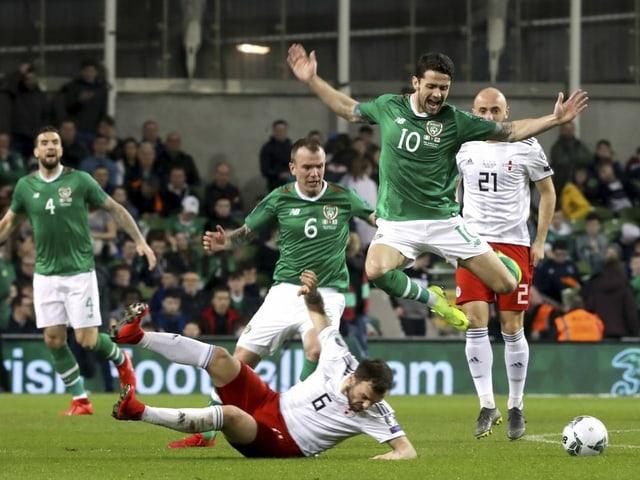 Zehn Punkte aus vier Spielen haben die Iren auf dem Konto.